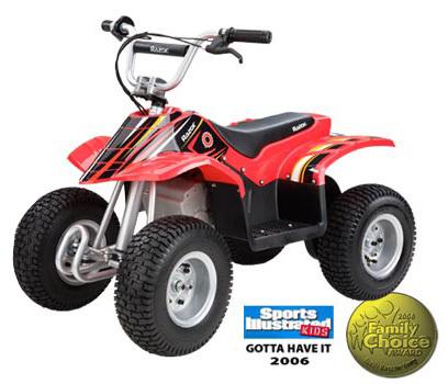 Razor Dirt Quad ATV