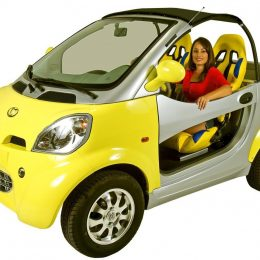 Kandi COCO Convertible Electric Car (KD08E)
