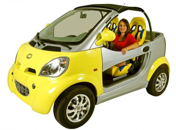 Kandi Coco Convertible Electric Car Kd08e