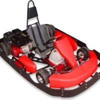 Road Rat Racer 6.5hp XB Single Go Kart (Bumper Edition)