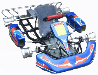 Road Rat XK Kids Go Kart Chassis