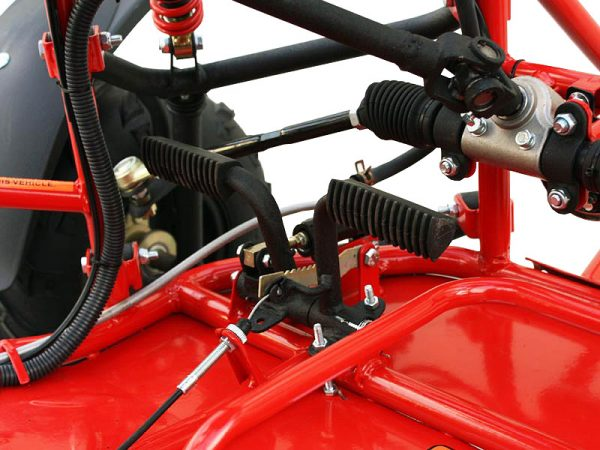 2-Seated 110cc Gas Go Kart Dune Buggy w/Electric Start