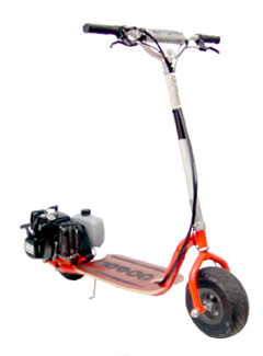 Go-Ped Super GSR46R 46CC Gas Scooter