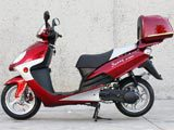 "150cc Touring 10"" disc MC-D150A  FREE Trunk"