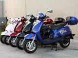 150cc Retro Vespa Style/Trunk MC-D150M  FREE Trunk
