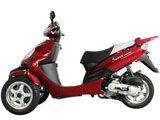 50cc Reverse Trike/Trunk MC-D50TKA