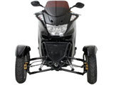 150cc Reverse Trike MC-D150TKA  FREE Trunk/Windshield
