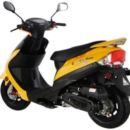 50cc 4 stroke MC_A50A1 gas scooter