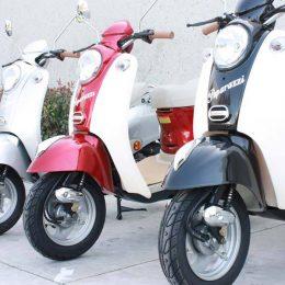 50cc, 4-stroke MC_D50B gas scooter