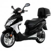 "Sunny 150cc 13"" wheels Disc /trunk MC-D150G gas scooter"