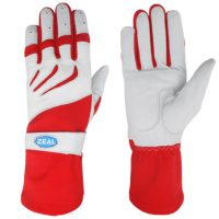 Zeal Race Kart Gloves red/white