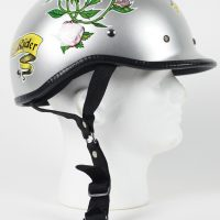 RHD102 - DOT POLO MOTORCYCLE HELMET