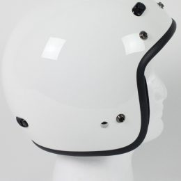 RMTW2 - DOT 3/4 Motorcycle Helmet. Three Quarter Helmet