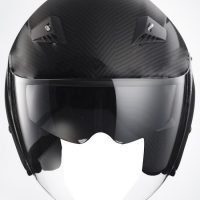 RK6C - Carbon Fiber DOT Motorcycle Helmet RK-6 Open Face with 2 Shields