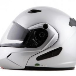 RF18- DOT Double Retractable Visor Modular Motorcycle Helmet