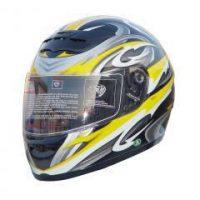 RZ80Y - DOT Full Face Graphic Motorcycle Helmet