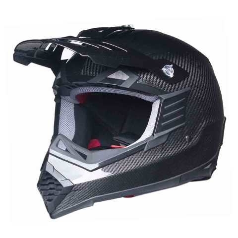 DOT ATV Dirt Bike MX Carbon Fiber Motorcycle Helmet
