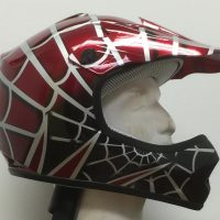 DOT ATV Dirt Bike MX Kids Spider Motorcycle Helmet