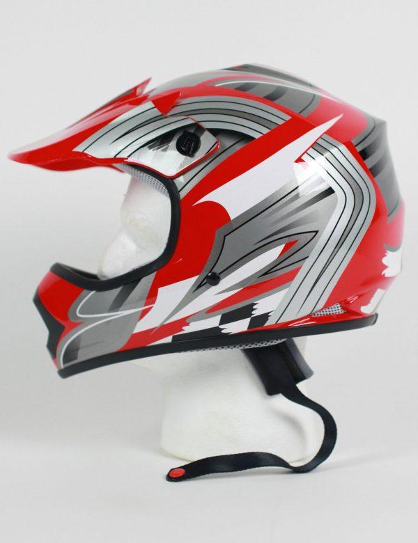 DOT ATV Dirt Bike MX Kids Motorcycle Helmet