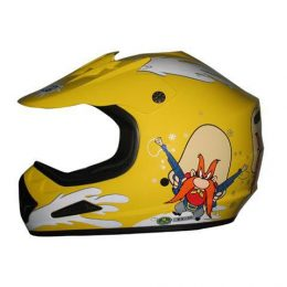DOT ATV Dirt Bike MX Kids Back Off Motorcycle Helmet