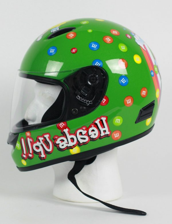 RZ3K - M&M Licensed Kids Full Face Motorcycle Helmet