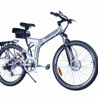 X-Cursion Electric Folding Mountain Bicycle