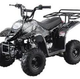 SMALL 110cc KIDS ATVS Rack